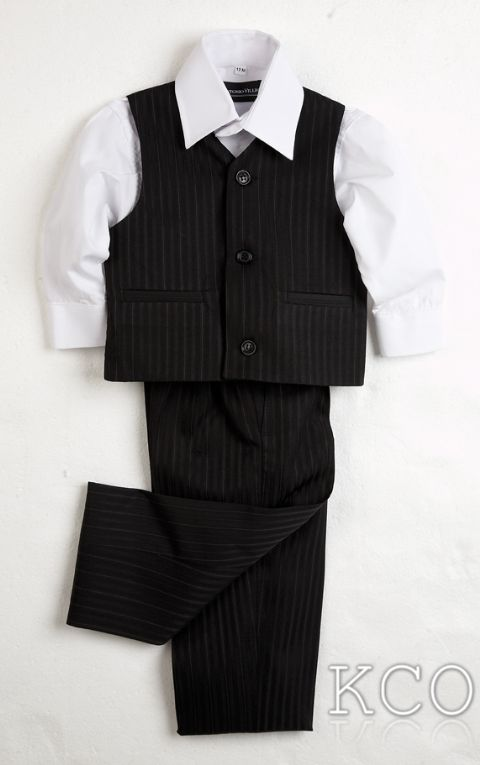 Juventus Black/White~ Boys Suits